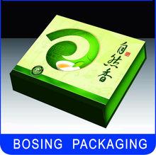 Beautiful small bags green paper tea box