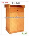 Venda quente da escola mesa de professor/em sala de aula móveis de madeira púlpitos para igrejas