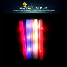 Wholesale led foam flashing light stick,custom led sticks,led foam stick
