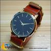 Vintage genuine Italian leather strap watch elegant and luxury watch 1610