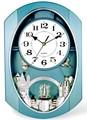 nuevo diseño de barrido movimiento de cuarzo reloj de pared con los rotadores