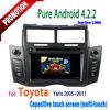 touch screen gps car dvd for toyota yaris 2011 2010 2009 2008 2007 2006 2005 GPS internet WIFI Bluetooth TV USB Radio