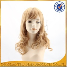 New arrival most popular style kanekalon synthetic lace front wig