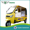 2015 new design super power elegant six seated 60V 1000W cost-effective electric 3-wheelers