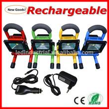 50w 30w 20w 10w led flood light rechargable