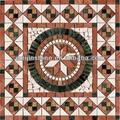 de mármol del mosaico de sol de patrones de diseño