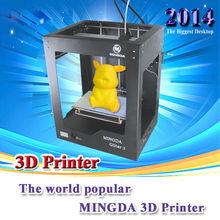Vendita calda Uruguay mingda metallico della stampante 3d, stampante portatile 3d, 3d oggetto stampante per la vendita