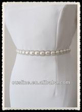 elegant pearl rhinestone chain, wedding belt, wedding gown decoration