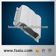 CNC milling silver anodize aluminum enclosures for electronics