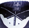 welcome to custom customize 5 panel black leather snapback hats made in china
