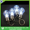 Promotional Custom Plastic Led Key Ring Light Bulb