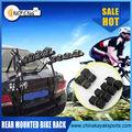 portabicicletas trasero para bicicletas de cuatro