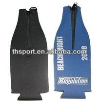 Foldable beer bottle cover