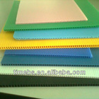 Recycled corrugated plastic sheet/pp corrugated hollow sheet