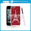 Eiffel Tower design PC+Mobile Phone Metal Case For iPhone 5C