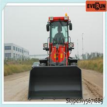 Hot Selling Qingdao Everun ER 16 Mini Wheel Loader with Hydraulic System
