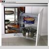 900mm soft closig kitchen cabinet magic corner