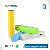 Manufacture Mini Built-in LED Torch portable handphone charger