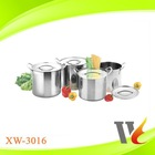 stainless steel cookware set / stock pot