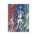 Usted sabe/mujer abstracto pintura al óleo/del arte del arte moderno decoración de hogar