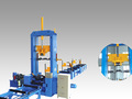 Vertical machine d'assemblage pour h- beam fabrication