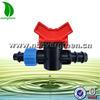 irrigation drip tape mini valve connector