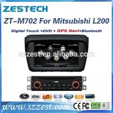 ZESTECH digital screen car radio gps car spare parts for mitsubishi pajero L200