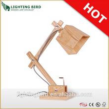 Study Writing Little Dog Wooden Desk Lamp/Table Light
