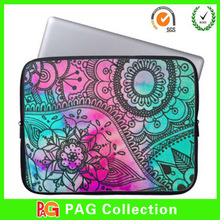 Hot Selling Newest design flower print neoprene laptop sleeve