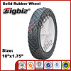 10 inch rubber wheel ,silicone coated elastic rubber wheel