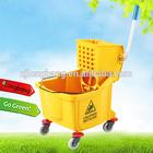 36L plastic mop wringer bucket(LBW-36)