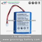 ICR18650H-1S3P best seller battery li-ion 3.7v 6600mAh rechargeable battery packs