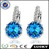 cz earrings wholesale New product 925 sterling silver earring