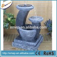 Solar Outdoor Handmade Resin Garden Water Fountain
