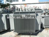 High quality manufacturer Low loss S9-500KVA oil filled distribution transformer 15kv/0.4