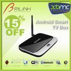 Quad Core Mini Android TV Box Ethernet, IP Box TV 2GB RAM Quad Core 8GB ROM with Bluetooth 4.0