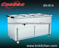Calentador de alimentos equipo pan 6 buffet baño maría( caliente) bn-b14
