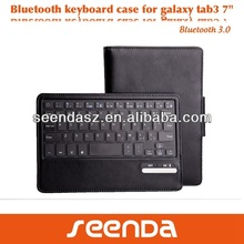 Top selling case for Samsung tab 3 7.0,folio cover case 7 inch tablet
