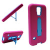 The robot phone case pc+silicon stand holder for samsung galaxy s5 case