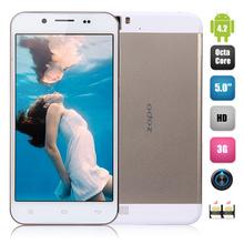 ZOPO ZP1000 Smartphone 5.0 Inch MTK6592 Octa-core 1.7GHz Android 4.2 1GB 16GB 5.0MP 14.0MP Cheap Cellphone