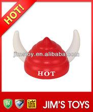 2014 Hot Selling plastic funny viking helmet viking charms