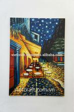 Vietnam lacquer wall art painting handmade in Vietnam high quality modern wall art
