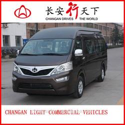 CHANA G501 gasoline 2.7L light commercial bus and city logistics mini van