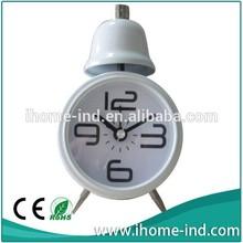 Small bell alarm decorative clock