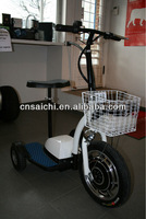 China cheap electric brushless motor scooter, electric chariot,350W Zappy scooter ES-064