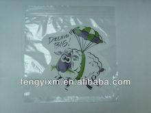 resealable printing zip lock food bag