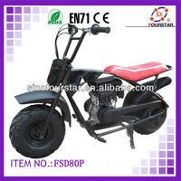 Off-road Mini Motor Bike for Sale FSD80P,80cc gasoline scooter