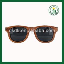 100% fashional naturel bois de noyer noir lunettes( yd56)