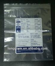 medical zipper bags for pillow