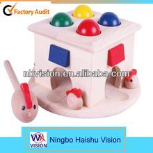 kinder holzspielzeug Babys schlagen spielzeug aus holz spielzeug großhandel